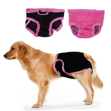 Female/Male Dog Diaper Puppy Diapers Pants Dog Wraps Doggy Panty Pet Underwear Physiological Sanitary Shorts 4 Colors