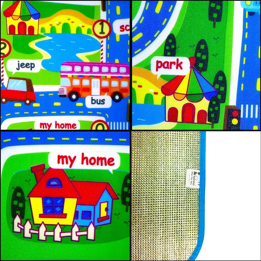 Деца килим развиващите мат Ева пяна - Играчки за бебета и малки деца - Снимка 6