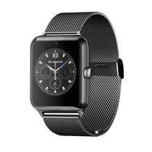2017 la más nueva manera bluetooth smart watch z50 con frecuencia cardíaca sim card tf mp3 mp4 compatible con apple y android teléfonos