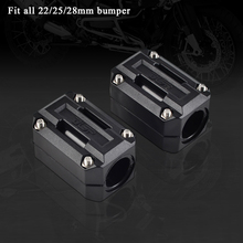 22/25/28mm Engine Guard Bumper For Honda