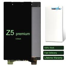 Para sony xperia z5 premium pantalla lcd de pantalla táctil asamblea z5p z5 plus e6853 e6883 piezas de repuesto