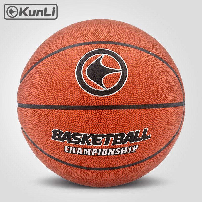 orijinal KUNLI basketbol topu KLBA201 BLUE Size7 size6 size5 Marka - Komanda idman növləri - Fotoqrafiya 5
