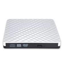 Hot-Slim DVD Burner USB3.0 Bergelombang Drive Eksternal(China)