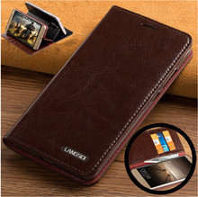 ND06 genuine leather flip case cover for Xiaomi Redmi Note 4X leather case for Xiaomi Redmi Note 4X phone case with card slots