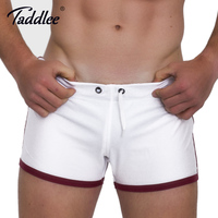 Taddlee Brand Men S Shorts Boxer Trunks Solid Fashion New Summer 2017 Activewear Low Rise Sexy