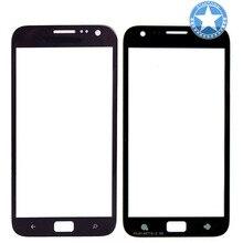 Schwarz Farbe Für Samsung Ativ S I8750 Frontscheibe Glas Objektiv Front Äußere Objektiv Ersatz