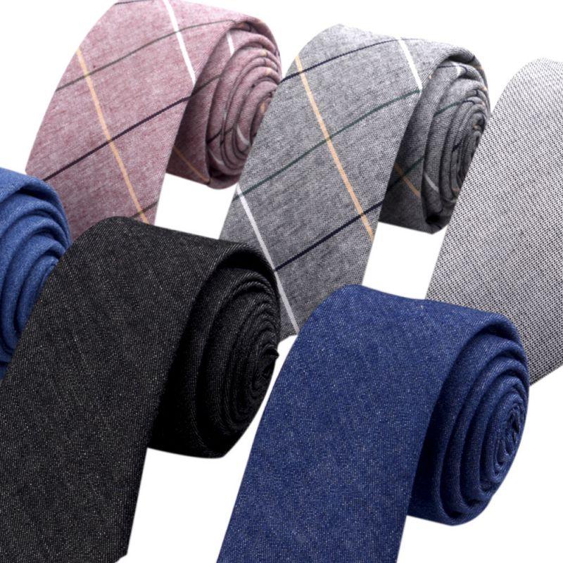 Men's Suit Tie Plaid