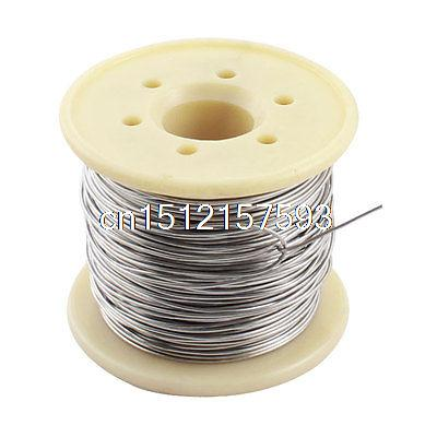 15M 0.8mm AWG20 Gauge Nichrome Resistance Resistor Wire for Heating Elements цена