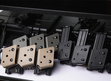 IPSC Magazine Holster USPSA IDPA Competition Shooting Tactical Open Class Competition Pouch Speed Shooter's Pistol Mag Holder rbc canadian open sunday competition