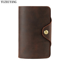 genuine leather men wallets wallet crazy horse man coin pocket mens purse