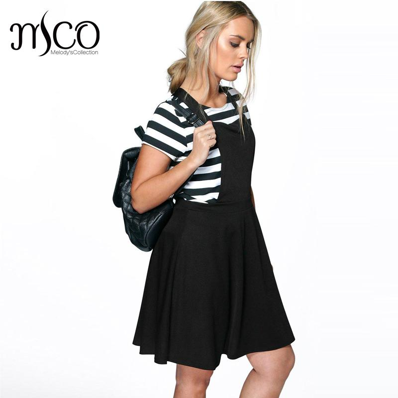 Popular Black Pinafore Dress-Buy Cheap Black Pinafore Dress lots ...