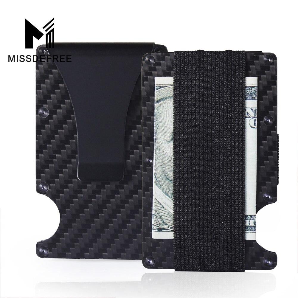 Mens Minimalist Aluminum Slim Wallet Card Holder Money Clip with Bottle Opener