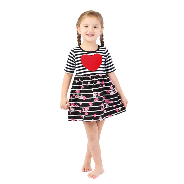 Kaiya Angel 2018 Newest Valentines Day Girls Dresses Baby Girl