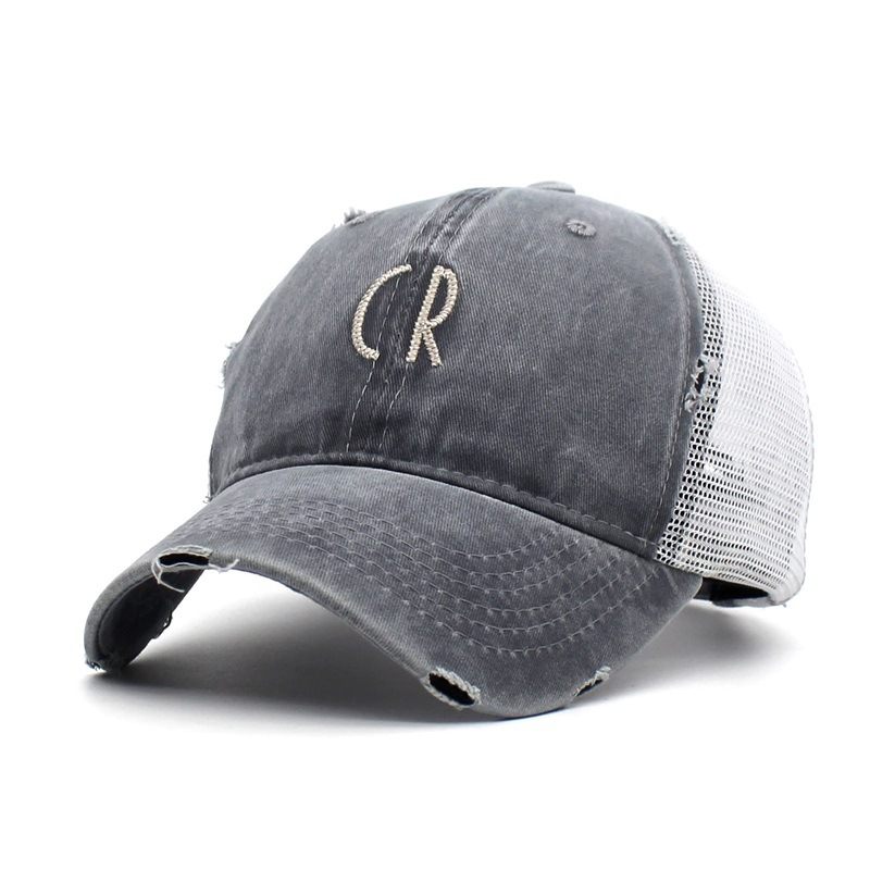 black trucker hat 3