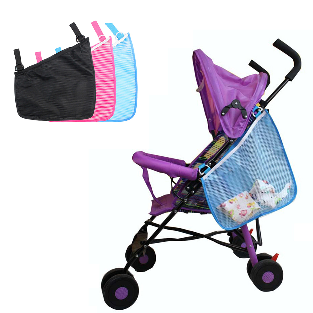 Baby Stroller Organizer Hanging Bag Baby Prams Carriage Bottle Storage Bag For Baby Stroller Accessories Wheelchair Bag