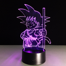 Dragon Ball Z Freezer VS Gokou 3D Night Lamp