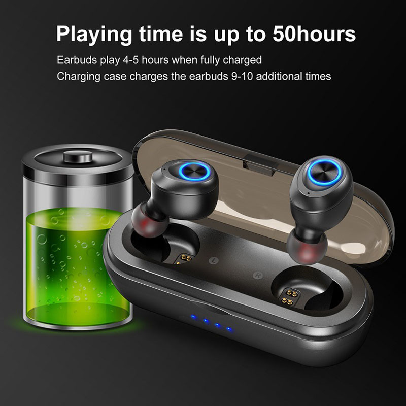 2019 Hot Centechia Auricolare Stereo Senza Fili Impermeabile Mini Sport Auricolare Bluetooth con Ricarica Pod Per DOY - 4