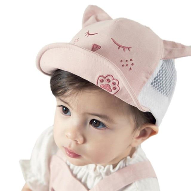 25c8d807a3ad9a Baby Hat Baseball Cap Cotton Baby Boys Girls Hats Sun Hat Spring Autumn  Peaked Cap Summer