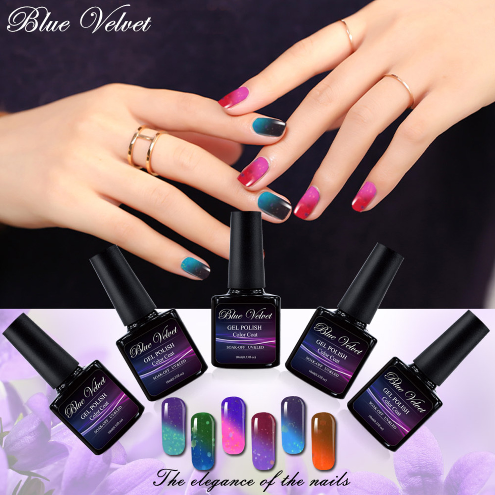 Blue Velvet 10ml Cheese Temperature Change Gel Varnish ...