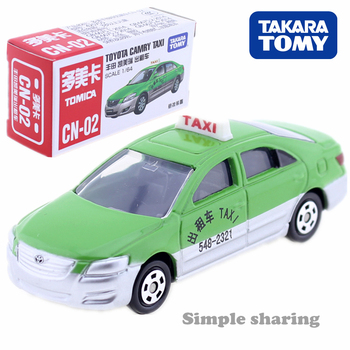 Tomica CN-02 Toyota Camry TAXI Takara Tomy AUTO CAR Motors Vehicle Diecast Metal Model New Toys Collection GIFT image