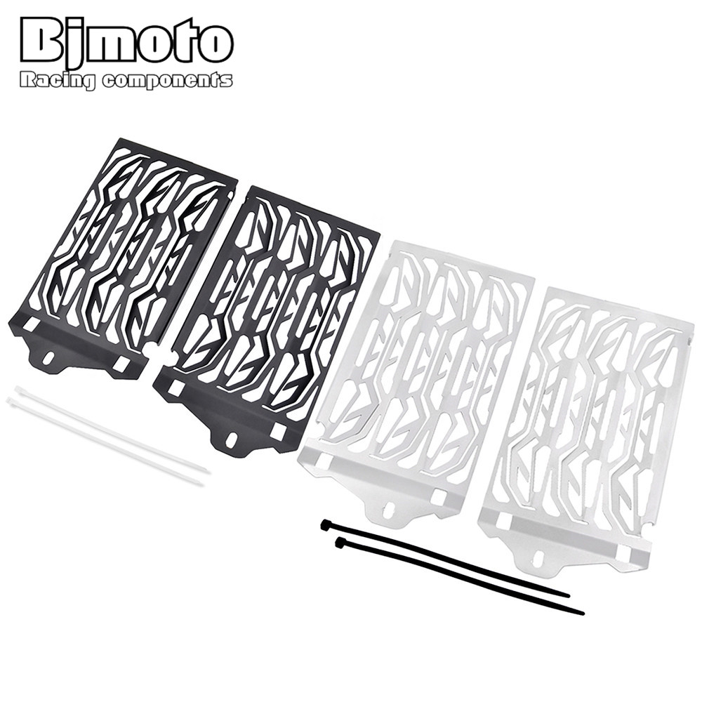 Motorcycle Radiator Guard Gloss Grille Bezel Radiator Net Protective Cover For BMW R1200GS GSA ADV Adventure Water-Cooled 13-17 new radiator protective cover grill guard grille protector radiator grille guard cover for bmw r1200gs 13 15 r1200gs adv 14 15