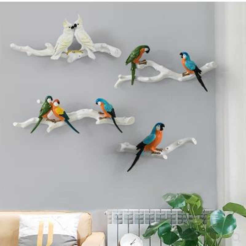 Bird /& Thistles \u2013 Poster  Card \u2013 Wall Decoration for Babies and Children \u2013 Trois Petits Potes