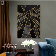 Classic Geometric Canvas Painting Wall Art Posters and Prints Nordic Marble Picture for Living Room Home Decor Artwork