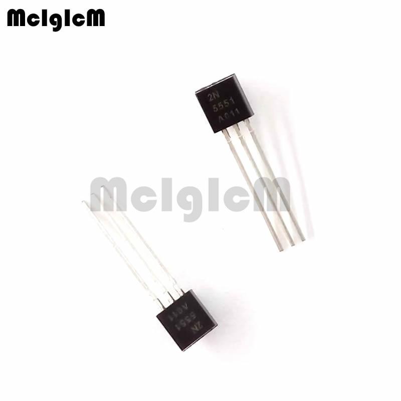 MCIGICM 5000pcs 2N5551 TO 92 NPN General Purpose Amplifier 0 6A 160V NPN Original new