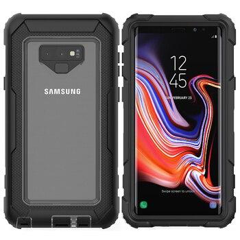 Transparent Hybrid Galaxy Note 9 Case