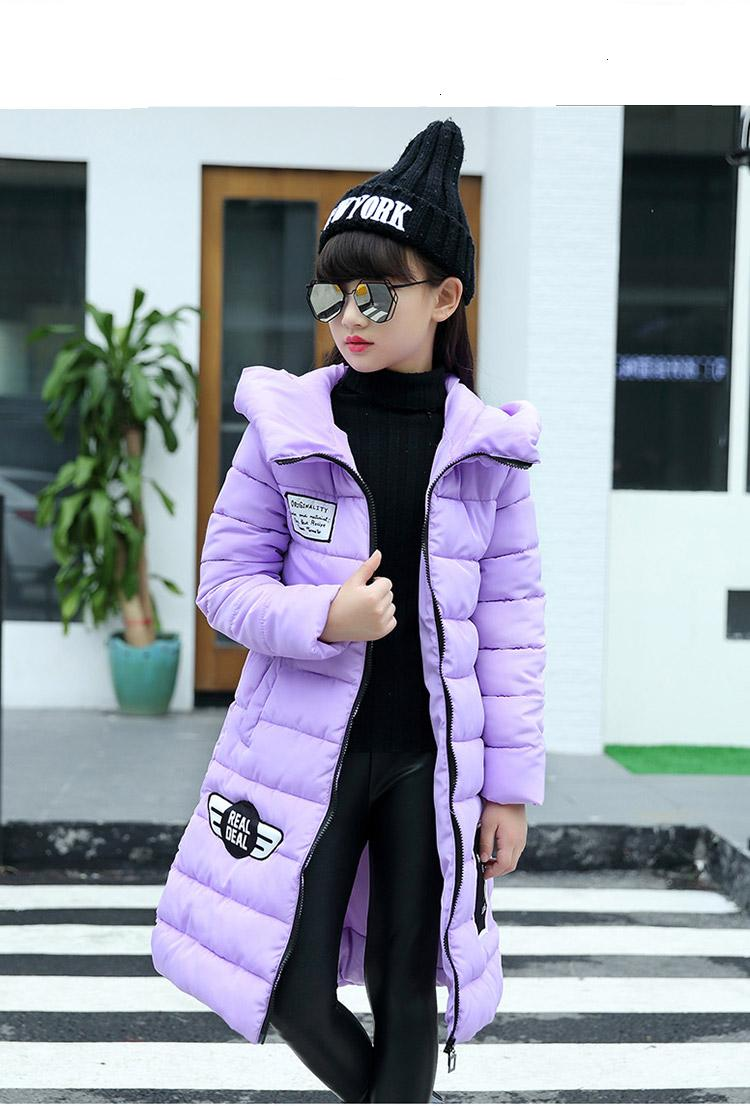Good quality  New Children Winter Jacket Girls Warm Thickened Down Coat Kids Causal Outdoor Snow Coat Outerwear Parkas HB1022 2017 new baby girls boys winter coats jacket children down outerwear warm thick outdoor kids fur collar snow proof coat parkas