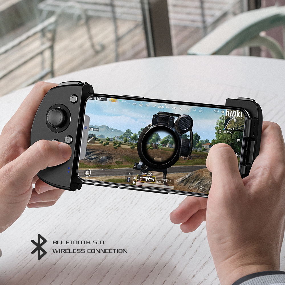 GameSir G6 Mobile Gaming Touchroller Wireless Controller with Ultra-thin 3D Joystick G-Touch Technology For iOS For PUBG Games EYOYO