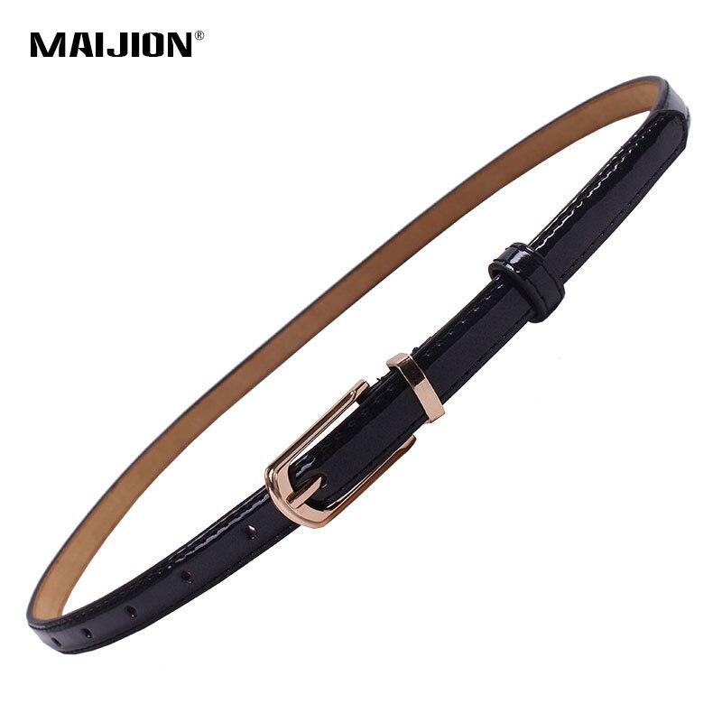 MAIJION Female Straps Leather Belt Waists