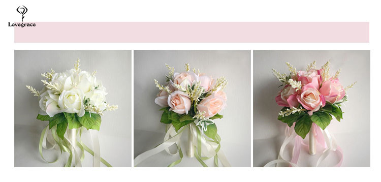 wedding bouquet for bridal bridesmaid flowers (17)