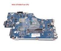 NOKOTION For Acer aspire 5742 5742G Laptop Motherboard PEW71 LA 5894P MBRB902001 HM55 DDR3 GT540M 1GB Free CPU