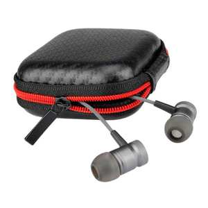 Box Cover For Earphone Cable Charger Headphone Portable Storage Square Bag