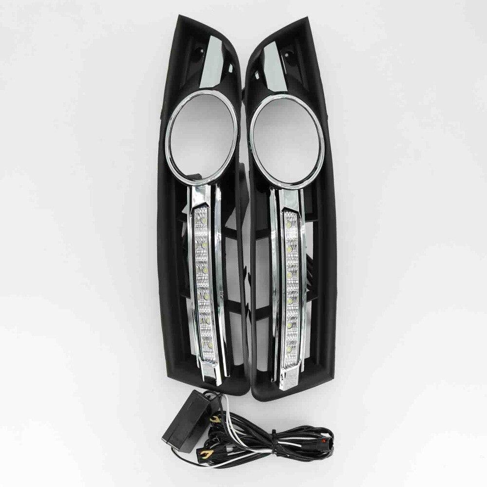 Для VW Пассат В6 2006 2007 2008 2009 2010 2011 пара или влево или вправо светодиодные фонари DRL дневные ходовые огни