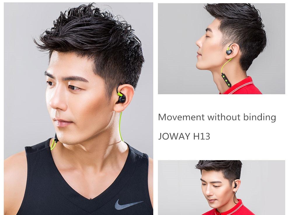 Joway Original H13 4.0 Bluetooth Inalámbrico Auriculares Estéreo de Música para Auriculares Deportes Ejecutan Auriculares Con el Mic Para el iphone Xiaomi