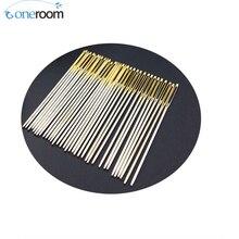 Noneroom 10 pcs / lot #24 Needles for aida 11ct fabric cross