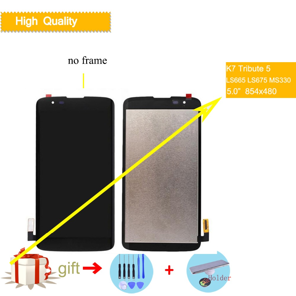 5.0 ORIGINAL Display For LG K7 Tribute 5 LCD Touch Screen Assembly With Frame K7 LS665 LS675 MS330 K330 AS330 K332 Display5.0 ORIGINAL Display For LG K7 Tribute 5 LCD Touch Screen Assembly With Frame K7 LS665 LS675 MS330 K330 AS330 K332 Display