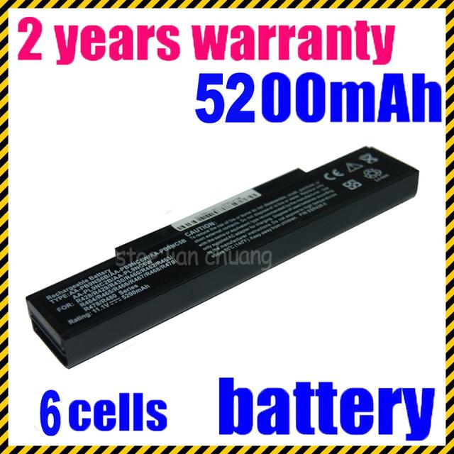 Batería del ordenador portátil para samsung r429 r431 jigu r438 r458 r463 r464 r465 R466 R467 R468 R470 R478 R480 R503 R507 r730 R540 R528 rv513