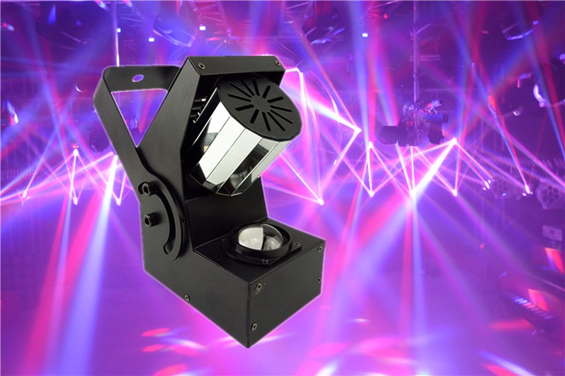Mini Led Roller Scanner Beam Light 10W 4in1 RGBW DMX512 Laser Stage Lighting DJ Disco Party Effect Lights