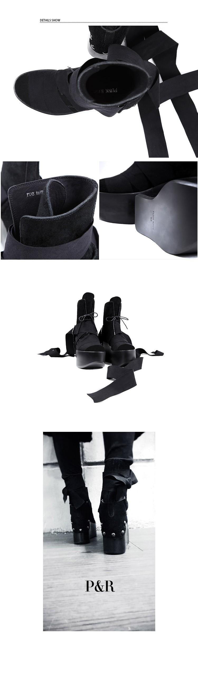 660e048a539a PUNK RAVE original product platform shoes fashion female winter ...
