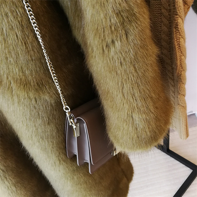 Back To Search Resultswomen's Clothing 2019 New Style High-end Fashion Women Faux Fur Coat S71