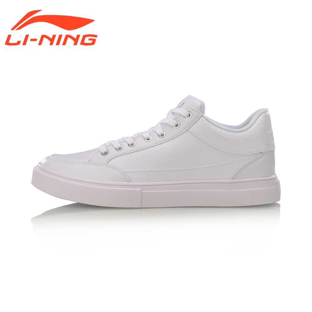Li-Ning Men's LN Remodel Walking Shoes Leisure Breathable Classic Sports Shoes Wearable Sneakers LiNing AGCM143 original li ning men professional basketball shoes