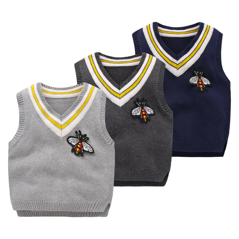 Free knitting pattern baby vest Winter warm baby fashion baby coat ...