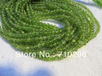 Natural Peridot 5 Mm Semi Precious Stone Round Beads 10 Stirngs Lot Jewelry Accessories Beads Free