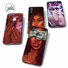 Case For Huawei P30 Pro Black Girls for Huawei P20 P30 LITE Case for Huawei P20 lite P Smart 2019 P10 lite Plus Phone Case Cases