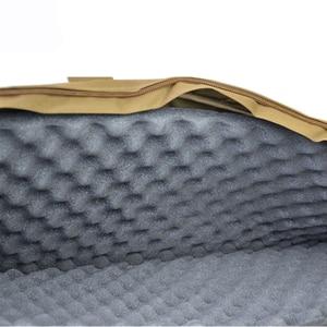 Image 5 - 전술 사냥 액세서리 소총 총 케이스 85 cm/100 cm 육군 군사 airsoft 슈팅 페인트 볼 총 가방 소총 보호 가방