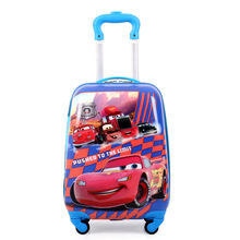 The New 2018 Cartoon Kid's Travel Trolley Bags Suitcase for Kids Children Luggage Suitcase Rolling Case Travel Bag on Wheels