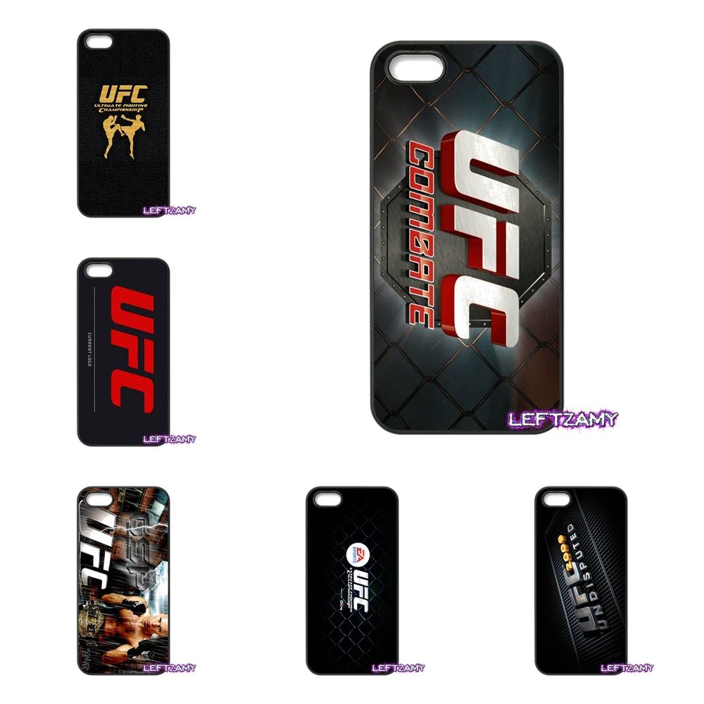 Flames ufc mma Hard Phone Case Cover For iPhone 4 4S 5 5C SE 6 6S 7 8 Plus X 4.7 5.5 iPod Touch 4 5 6